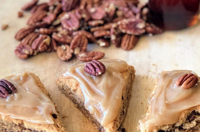 Maple Pecan Scones | Vegan and Paleo