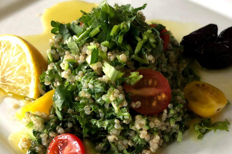 Perfect Quinoa Tabbouleh