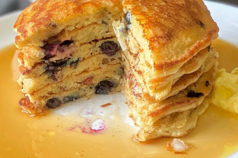 High Protein Almond Flour Pancakes
