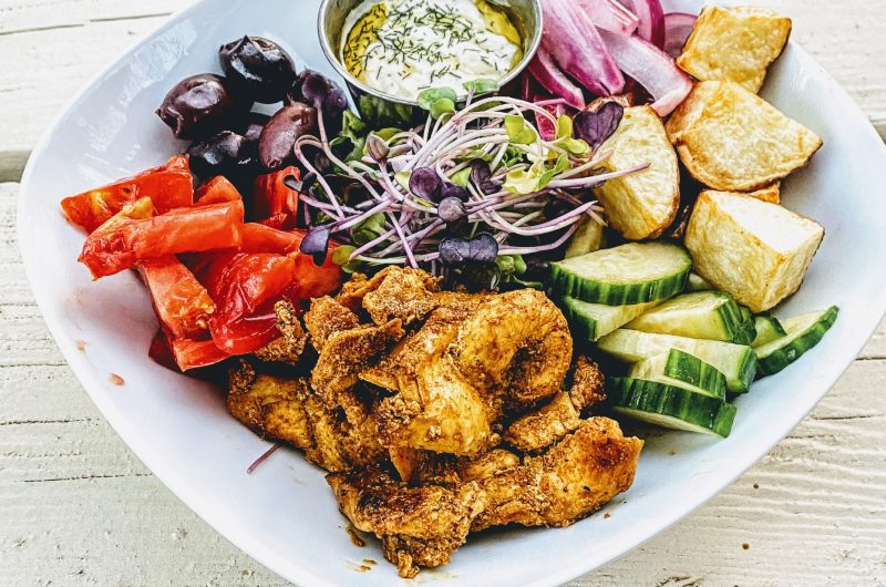Easy Whole30 Chicken Shawarma Bowl That's As Good As Takeout